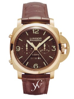 Panerai Luminor 1950 8 Days Rattrapante Pink Gold PAM 00319
