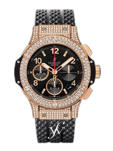 Hublot Big Bang Red Gold Diamonds 41mm