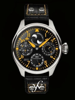 IWC Big Pilot Perpetual Calendar in Orange