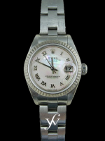 Rolex Ladies Datejust Stainless Steel Oyster MOP
